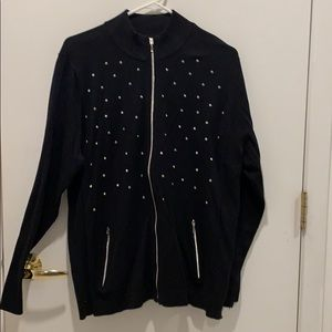 Chico's Zenergy golf sweater, size 3/XL.